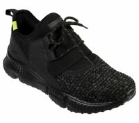 Skechers Black Shoes Men Memory Foam Soft Sporty knit mesh Comfort Outdoor 51903