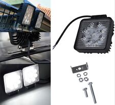Land Rover Defender 2x Roof Light Spot Lamp 27W Powerful 2250 Lumen 4x4 427S