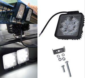 Land Rover Defender 2x Roof Light Spot Lamp 27W Powerful 2250 Lumen 4x4 427S
