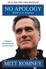 NO APOLOGY BY MITT ROMNEY BOOK