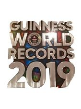 WORLD RECORDS Guinness 2019 Illustrated Hardback NEW Free Postage