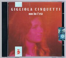 GIGLIOLA CINQUETTI NON HO L'ETA' CD F.C. COME NUOVO