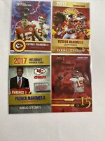 2017 Patrick Mahomes 4 Card Rookie Lot $$ Invest Now Hot $$