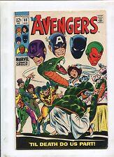 THE AVENGERS #60 (6.5) TIL DEATH DO US PART!