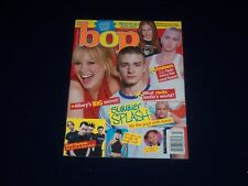 2003 JULY BOP MAGAZINE - HILARY DUFF & JUSTIN TIMBERLAKE COVER - SP 4933