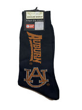 Auburn University Tigers Dress Socks Officially Licensed New With Tags War Eagle