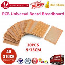 10Pcs 9*15cm DIY Prototype Paper PCB Universal Circuit Board BREADBOARD AU