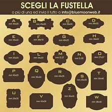 2000 Bollini - Etichette personalizzate ChiudiPacco GOLD/SILVER in sole 24ore