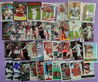 ALBERT PUJOLS lot of 38 different cards 2021 2020 2019 Los Angeles Angels
