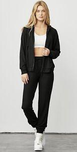 alo Soho Sweatpants Joggers Black Size Medium