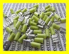 KABELSCHUHE Flachsteckhülse gelb 12-14AWG 100 Stück
