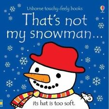 That's Not My Snowman... by Fiona Watt - Usborne Touchy-Feely