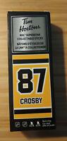 2020 Sidney Crosby Tim Hortons Limited Edition NHL Superstar Stick / Locker NEW