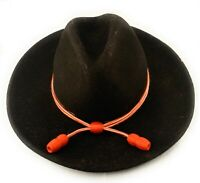 🌟US Army Signal Corps, Orange & White Acorn Hat Band, Stetson Campaign Cord