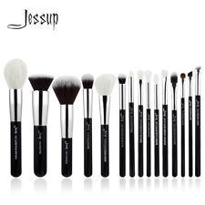 US Pro 15PCS Soft Makeup Brushes Set Beauty Cosmetic Face Kabuki Eye Kit Jessup