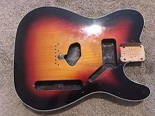 Squier Classic Vibe Fender Telecaster Body Sunburst Binding Double Bound