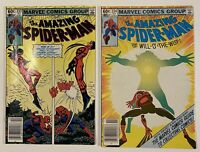 Amazing Spider-Man 233 VF/NM and 234 FN/VF Marvel Comics Lot of 2 Newsstands
