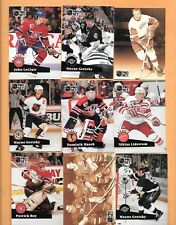 HOCKEY CARDS-91/92 PRO SET LARGE LOT OF 1800 PLUS CARDS WITH STARS & ROOKIES