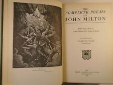1936 MILTON Complete POEMS Illustrated GUSTAVE DORÉ Union Library Association
