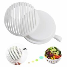 Easy 60 Second Salad Cutter Bowl Fresh Server Cutting Tool Slicer Fruit Washer