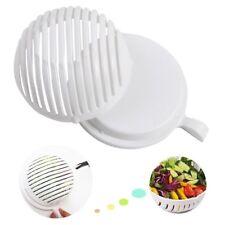 Easy 60 seconda ciotola per insalata CUTTER server freschi strumento di taglio rondella di FRUTTA AFFETTATRICE