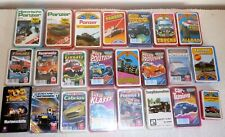 Sammlung 23 Quartett Karten Fahrzeuge Feuerwehr Panzer Formel 1 Trucks Schiffe
