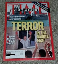 TIME Magazine 2000 OCTOBER 23 Special Report Terror in the Middle East