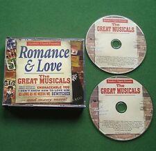 Romance & Love Great Musicals Judy Collins Rex Harrison Elaine Paige + 2 x CD