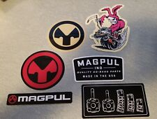 x6 Magpul Decals Stickers Vinyl Decal Sticker Six Different Decals