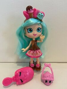 Shopkins Shoppies PEPPA MINT Doll -Excellent condition