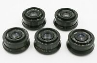 Lot 5 x Industar 50-2 KMZ 3.5/50 mm M42 USSR lens for SLR Zenit
