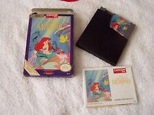 NINTENDO NES Juego Completo En Caja-Disney La Sirenita CAPCOM NTSC-US