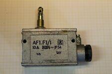 1 Stk. DDR Schalter AF1.F1 AF1F1 10A 500V IP54 ohne Gummimuffe #AS-L06