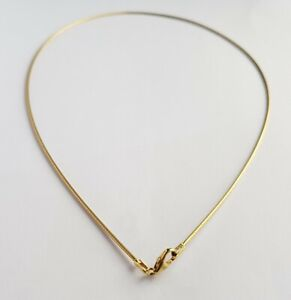 Ola Gorie Tondo Wire 9ct Yellow Gold 0.8 mm No Charm Boxed