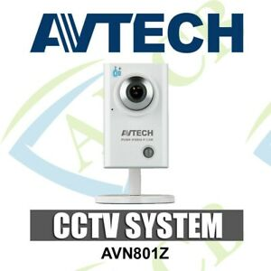Avtech AVN801Z Push Video All in 1 HD IP Driveway Camera CCTV Plug & Play 1.3MP