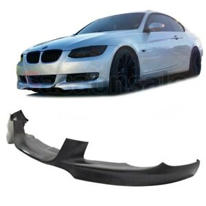 Made for 2007-2010 BMW E92 Coupe 328 335 Mtech DTM Front PU Bumper Lip Spoiler