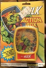 The Incredible Hulk Action Box by Marvel Comics Group (1978) Fleetwood Toys