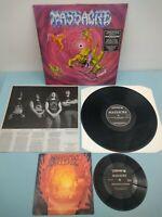 """MASSACRE from beyond EARACHE 1991 1st Press Vinyl LP + 7""""  MOSH 27 RARE"""