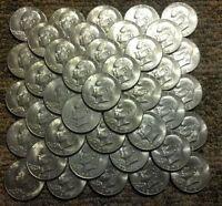 EISENHOWER IKE DOLLARS LOT TEN COINS $10 FACE Mixed Dates & Bicentennial!