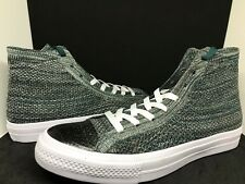 Converse Chuck Taylor All Star X Nike HI Flyknit Men's Sz 9.5 Teal/White 157509C