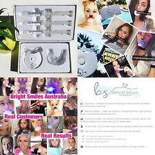 Teeth Whitening Kit LED Light Strongest Legal Say Hi To Pearly White Smile Vegan