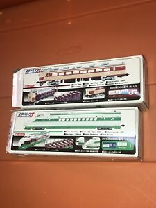 Rare Japan Bandai Star Train N Guage Model Kit Engine Unbuilt & Built Plastic