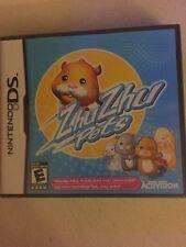 ZhuZhu pets Nintendo DS game