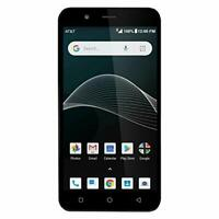 AT&T Axia 4G LTE 16GB GSM Unlocked Android Smartphone (Dark Blue)