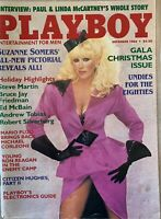 December 1984 Suzanne Somers Playboy