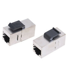 1Pc Cat6 Network Module Rj45 Connector Coupler Ethernet Keystone Jack Gr