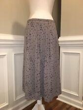 NWT Madewell Sheer Midi Skirt in Rosebud Scatter Sz 6 B7004