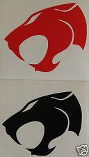 2 X Thundercats logo Bumper Sticker/Decal windsurfing/kitesurfing/vehicles