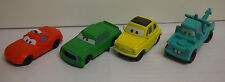 Disney Pixar Cars LOT OF 4 PLASTIC COLLECTOR CARS