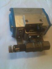 "FESTO PNEUMATIC G1-Y-1283-M. 1/2"" rotary shutoff valve. Normally Closed"